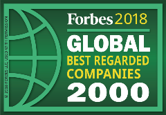RGA 149 Forbes Best Regarded Company
