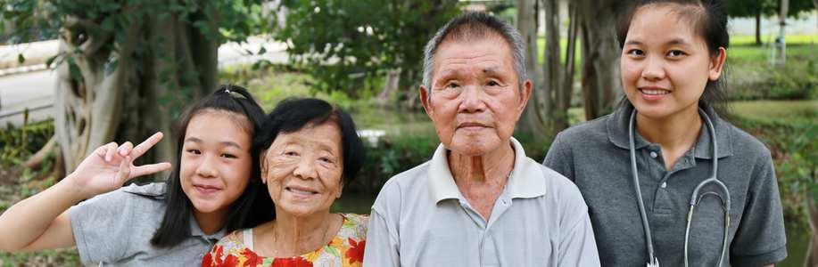 Asian care of the elderly