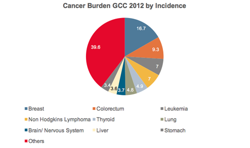 cancer burden by incidence